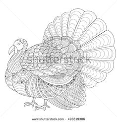 thanksgiving abstract coloring pages - photo#37