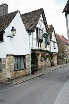 | ♕ | Country inn in Lacock - England, UK | by © Peter Gutierrez