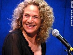 Carole King - iconic singer/songwriter. I love Carol King. She wrote great music <3