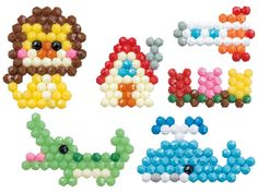 Perler Beads, Hexagon Quilting, Activities For Kids, Crafts For Kids, Water Beads, Balloon Animals, Easy Projects, Bead Crafts, Plastic Canvas
