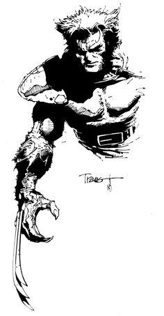 Travis Charest - Wolverine Inked by ~scribblebri on deviantART More Travis Charest @ http://groups.yahoo.com/group/ComicsStrips & http://groups.google.com/group/ComicsStrips http://travischarestspacegirl.blogspot.com http://www.travischarestgallery.com
