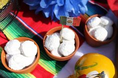 Mexican wedding cookies. A must-have for a fiesta bridal shower!