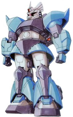 The MS-14B Gelgoog Uma Lightning Custom is a specially modified MS-14B Gelgoog High Mobility Type mobile suit used by Uma Lightning. It is featured in the MSV-R variations series as well as MSV-R: The Return of Johnny Ridden manga series.