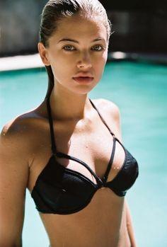 Megan Irwin shows off busty assets in shoot for Gooseberry Intimates One Piece Swimwear, One Piece Swimsuit, 007 Casino Royale, Girls Run The World, Classic Lingerie, Girl Next Door, Black Bikini, Swimsuits, Bikinis