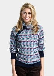 Retro-inspired Space Dyed Raglan Sweater $74.00 Available in two colors.