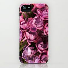 Lilac  iPhone & iPod Case by Guna Andersone - $35.00