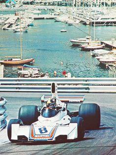 Jose Carlos Pace - #Brabham #Monaco #F1