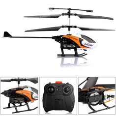 Helicoptero S126 2CH IR Canales RC Radiocontrol Control Remoto GYRO Naranja - http://www.midronepro.com/producto/helicoptero-s126-2ch-ir-canales-rc-radiocontrol-control-remoto-gyro-naranja/