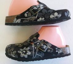 Birkenstock Clog Silvia Dias Voice of Papillio Collection BLACK  Size 37 = US 6 #Birkenstock #Clogs