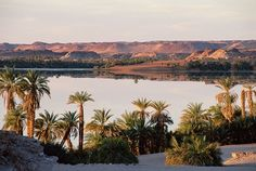Lac Yoa, Ounianga, Tibesti Mountains, Sahara Desert (Chad)
