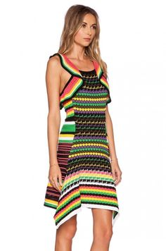 crochet missoni dress
