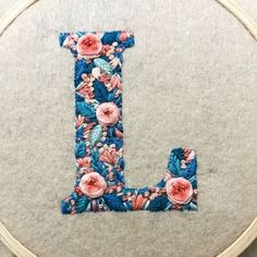 Wonderful Ribbon Embroidery Flowers by Hand Ideas. Enchanting Ribbon Embroidery Flowers by Hand Ideas. Embroidery Designs, Crewel Embroidery Kits, Hardanger Embroidery, Embroidery Monogram, Learn Embroidery, Silk Ribbon Embroidery, Cross Stitch Embroidery, Embroidery Thread, Monogram Cross Stitch