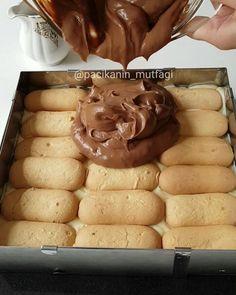 """Merve Ünal on Instagram: """"Hayırlı geceler sevgili takipçilerim Çok güzel bir pasta yaptım Hem de pratik ve kolay Krema olarak ev yapımı puding hazırladım ve…"""""""