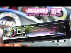 AUDI TT PIONEER DEHX9500BHS RADIO IPOD AUX MP3 USB INSTALL - YouTube