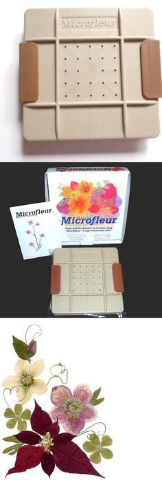 Dried Flowers 16493: Microfleur 5 (13 Cm) Microwave Regular Flower Press, New, Free Shipping -> BUY IT NOW ONLY: $40.5 on eBay!