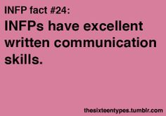INFP fact#24