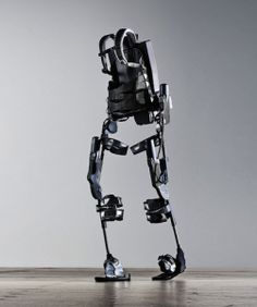 """This is the true integration of man and machine"" Wearable robot helps paraplegics walk; exoskeleton hits the market"