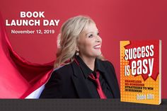 Book my new book Success Is Easy Today and Get $1000s in FREE Gifts at www.successiseasybook.com/bonus Debbie Allen, Book Launch, Bookstores, Free Gifts, Big Day, New Books, New Baby Products, Tuesday, Product Launch