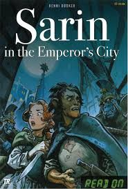 Sarin is happy that she is not alone in the Emperor's City. The Lion-boy saves Sarin from the Orks. Maybe he can help her find her parents?