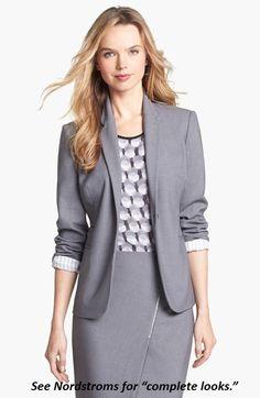 Nordstrom business attire blazer