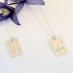 Båt, saget ut i sølvplate Håndlaget. via Zylla smykker. Nye, Arrow Necklace, Jewelry, Jewlery, Jewerly, Schmuck, Jewels, Jewelery, Fine Jewelry