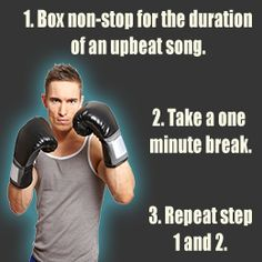 Boxing Workouts to Lose Weight. This is EXACTLY what I do! It makes me feel muscles I didn't even know I had!