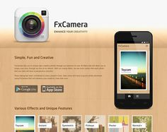 Inspiring Android App Websites: FxCamera; Timer; Instapaper; Fitsby; Maluuba; Foodster; more...