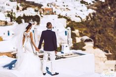 Wedding in santorini Got Married, Getting Married, Wedding Blog, Wedding Planner, Santorini Wedding, Honeymoon Packages, Young Couples, Vows, Wedding Dresses