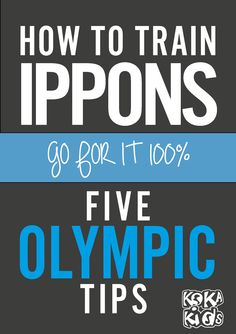 Ippon : How To Committ 100% to score an ippon - Kokakids - Junior Judo Magazine