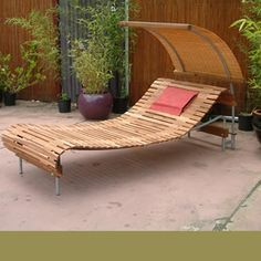 House of Bamboo - Products - Outdoor Shade and Leisure Structures - Creative Comfort(r) Daybeds