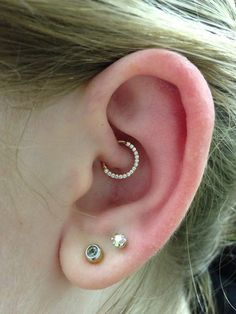 50+ Daith Piercing Ideas, Pain, Healing, Cost, Migraines nice  Check more at http://fabulousdesign.net/daith-piercing-ideas/