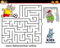 Funny mazes for kids printable Maze Games For Kids, Puzzles For Kids, Mazes For Kids Printable, Activities For 5 Year Olds, School Timetable, Maze Puzzles, Puzzle Art, 4 Year Olds, Home Schooling