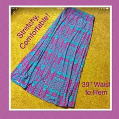 "🎉HOST PICK!🎉 Tribal Knit  Maxi Skirt.  NWOT Elastic waist. Comfy, cool material, this skirt is sure to be a favorite!  Never worn. Beautiful pattern. Can dress it up or dress it casual. Maxi skirts are IN! Brand new!  39"" from top of waist to hem. Jon and Anna Skirts Maxi"