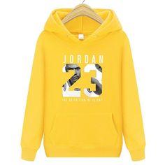 3916d91d9af742 Men Women Jordan 23 Hoodies Casual Long S Hoodies Streetwear Hip Hop  Pullover  NoEnName Null