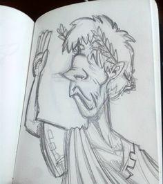 Sketch no ônibus.