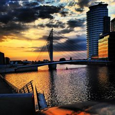 Salford Quays in Manchester, Manchester