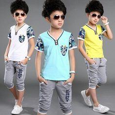 Bibihou Children T Shirts Boys Pokemon Go T Shirts Summer Clothes Summer Wear For Boys, Kids Wear Boys, Boys Summer Outfits, Kids Clothes Boys, Little Boy Outfits, Toddler Boy Outfits, Summer Kids, Kids Outfits, Boys Tracksuits