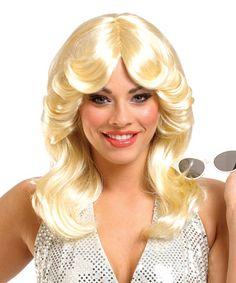 Look what I found on #zulily! Blonde '70s Wig - Adult #zulilyfinds