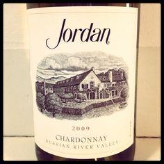@JordanWinery 2009 Chard for #jordan40 celebration now! #ww