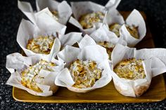 double coconut muffins by smitten kitchen