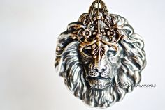 NEW  The Lion Necklace No. 4  American Made by blackpersimmons, $36.00