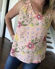 Shop the Look from HoneybeeFreedom on ShopStyleSUPER comfy, nice fitting tank! Petite Tops, Fashion Sewing, Spring Fashion, Floral Tops, Old Navy, Kids Outfits, Fashion Looks, Daily Outfit, Comfy