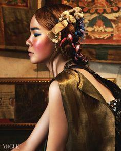 티베트 차마고도의 노마드 소녀 -