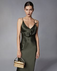 9d2c3105f62 Cushnie Front Cowl Pencil Dress | Olivela Pencil Dress, Cowl, Dresses,  Style,