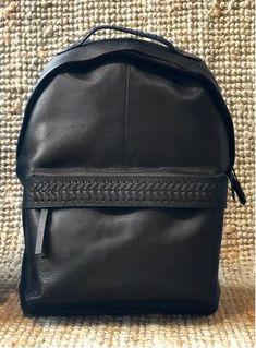 Γυναίκα :: Αξεσουάρ :: Τσάντες :: NISΩ ΣΑΚΙΔΙΟ BLACK - Infashionshop.gr   Γυναικεία και Ανδρικά Ρούχα και Αξεσουάρ American Vintage, Reiko και Hipanema Leather Backpack, Backpacks, Bags, Vintage, Collection, Fashion, Handbags, Moda, Leather Backpacks