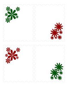 vánoční jmenovky, jmenovky na dárky, jmenovka na dárek Paper Crafts, Christmas, Cards, Printable Tags, Xmas, Patterns, Manualidades, Weihnachten, Papercraft