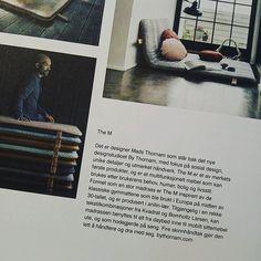 Proud to featured in NYTT ROM (Norway) #design #bythornam #madsthornam #them #shapeityourway #furniture #interiordesign #daybed #headboard #lounge #slowliving #luxery #design #furniture #maisonetobjet @nyttrom @christina_lundsteen @eleanor_home