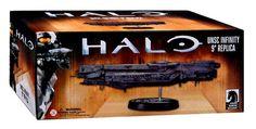 Halo UNSC Infinity 9-Inch Ship Replica Statue