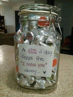 Candies Filled In Glass Jar For DIY Gifting
