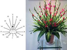 Những cách cắm hoa để bàn đơn giản đẹp mắt - Bộ Nguyên Liệu Làm Hoa Giấy Lụa